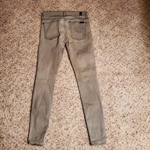 7 For All Mankind The Skinny Jeans Size 27 Tan